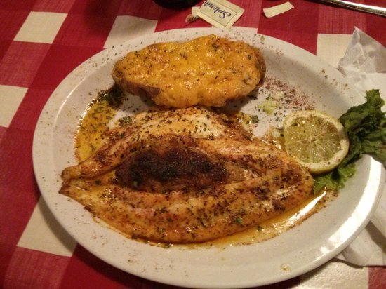 Landry's: Cajun Stuffed Flounder