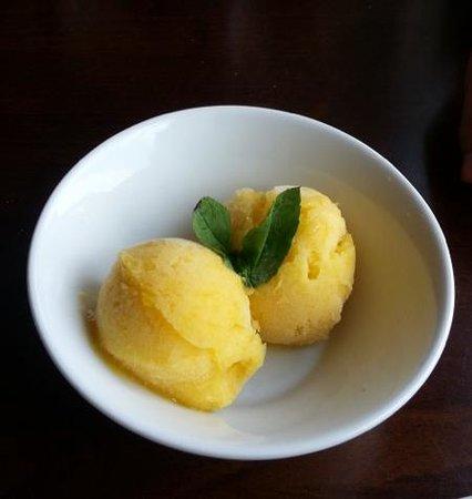 Radius Brewing Company: Mango sorbet