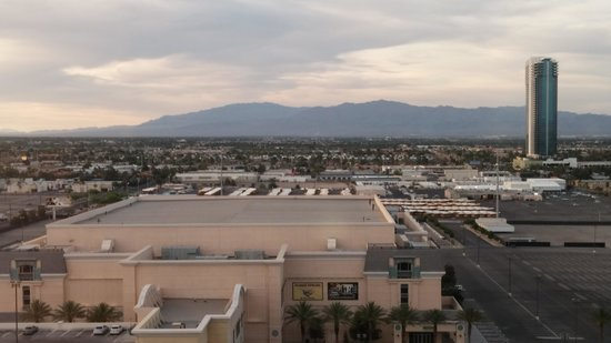 The Orleans Hotel & Casino: View from room