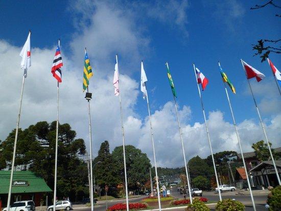 Rotula das Bandeiras: As bandeiras