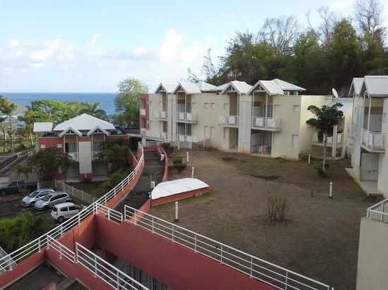 Karibéa Résidence La Goélette: vue du balcon