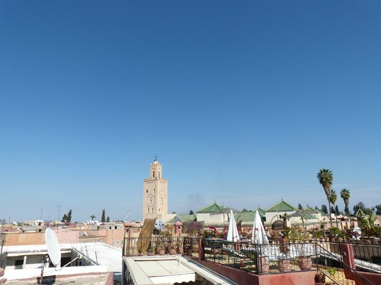 Dar Al Hamra : azotea