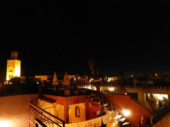 Dar Al Hamra: azotea