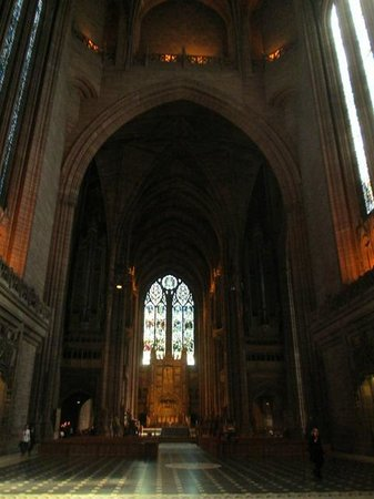Liverpool Cathedral: Main Dias