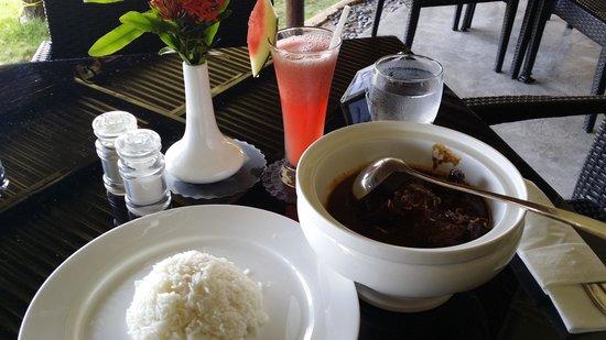 Bintan Spa Villa Beach Resort: Nice food