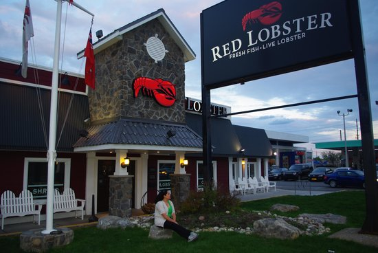 Entrance Of Red Lobster Restaurant