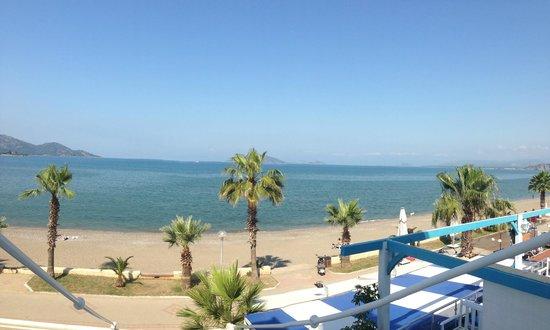 Delta Hotel: View form balcony towards Gocek