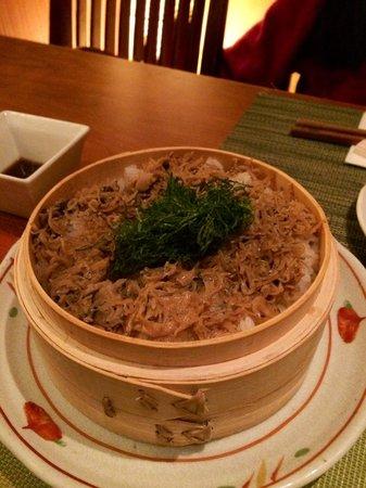 Aburiya Kinnosuke: Rice with small young sardines
