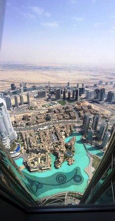 Burj Khalifa: 展望台より