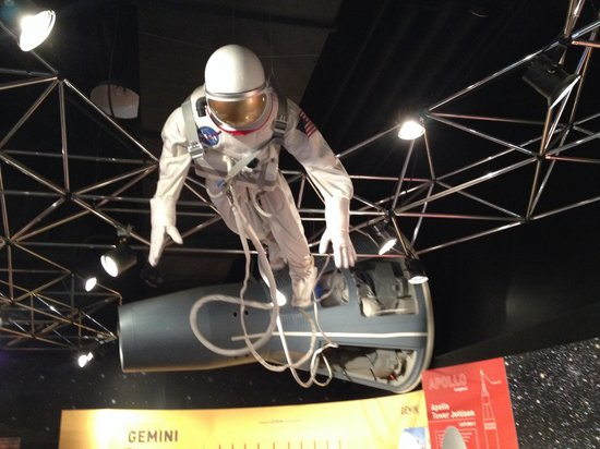 Museum of Science and Industry : Space man
