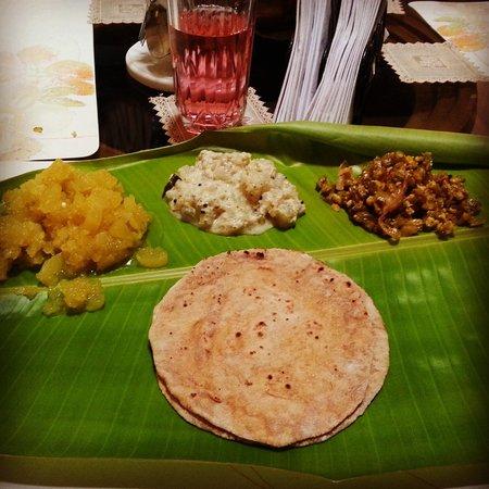 Ayuryogashram: How lunch looks like every day
