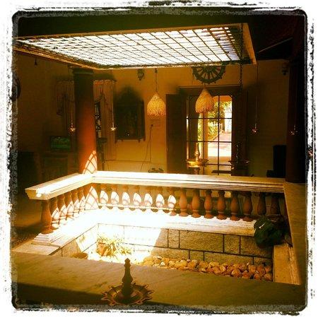 Ayuryogashram: Courtyard in the main building
