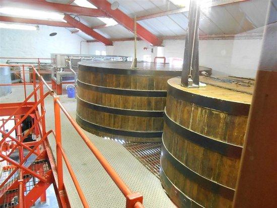 Edradour Distillery: Mash tuns