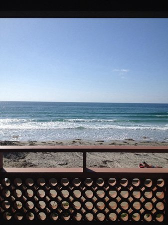 La Jolla Shores Hotel : View from our ocean front room