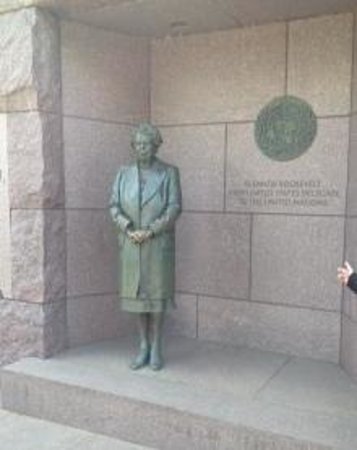 Franklin Delano Roosevelt Memorial: Eleanor