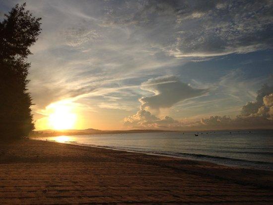 Villa Aria Muine: Sonnenaufgang um 6 Uhr