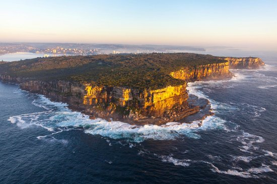 North Head Sanctuary: Aerial View of North Head