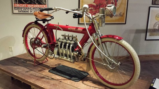National Motorcycle Museum: power assisted