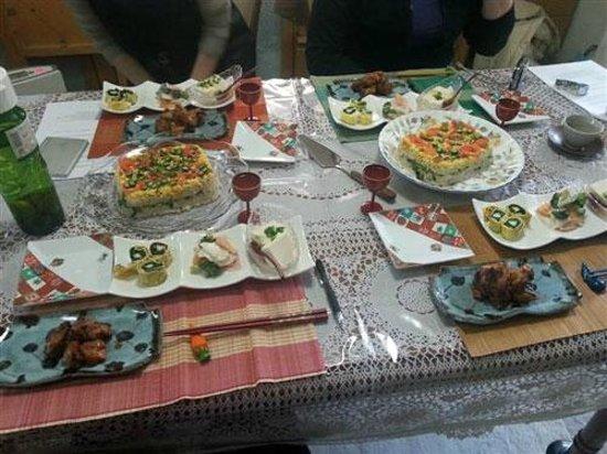 Japanese Cooking Experience with Yoshiko : Julia DE Dec.2013
