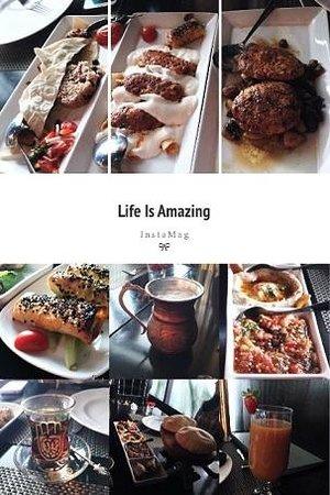 Turkuaz Restaurant: Our lunch