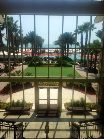 JW Marriott Marco Island Beach Resort : View from the lobby