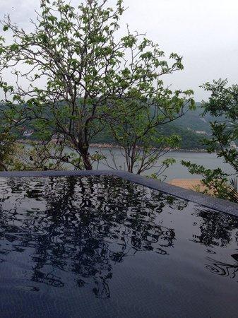Banyan Tree Cabo Marques : Vista desde la alberca privada