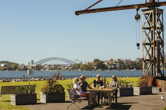 Cockatoo Island: Enjoy lunch at Societe Overboard