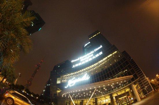 Grand Kempinski Hotel Shanghai: Ночью