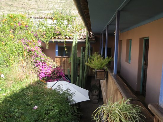 Pisac Inn: courtyard