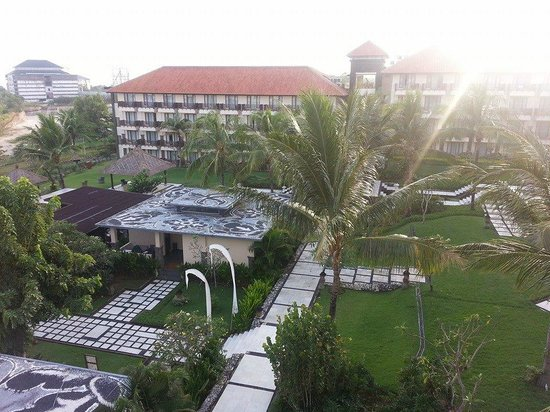 New Kuta Hotel: the view