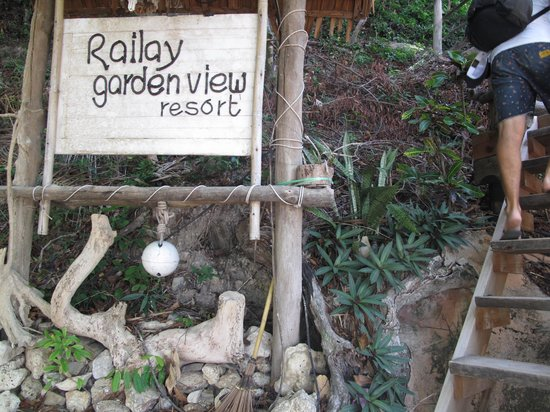 Railay Garden View Resort: entrance