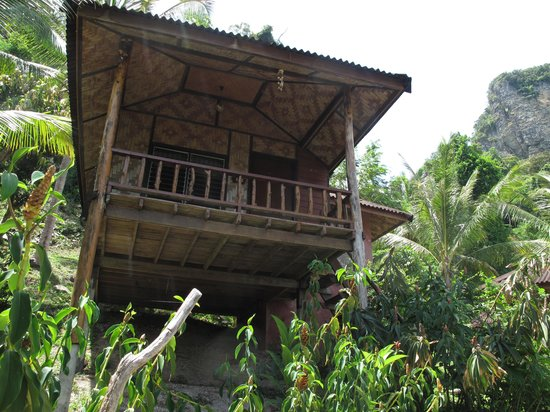 Railay Garden View Resort: bungalow outside