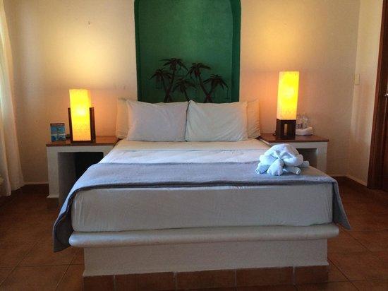 Los Aluxes Bacalar Restaurant: Excelentes habitaciones