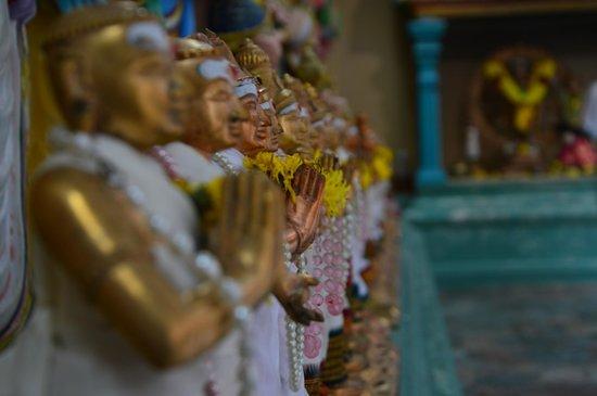Sri Maha Mariamman Temple : in the temple