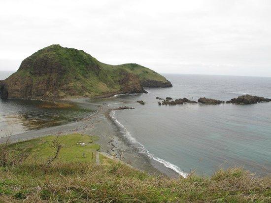 Futatsugame Beach: 展望台からの眺め