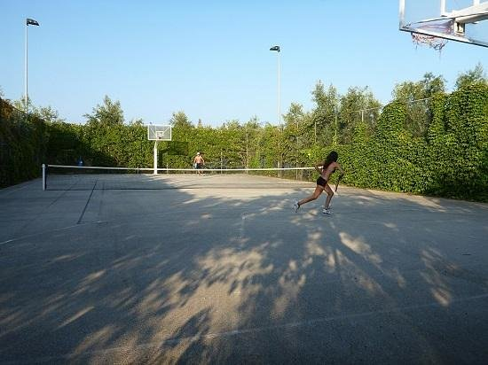 Camping Meltemi: tennis courts