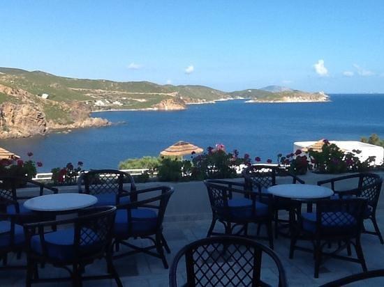 Patmos Paradise Hotel : nice view