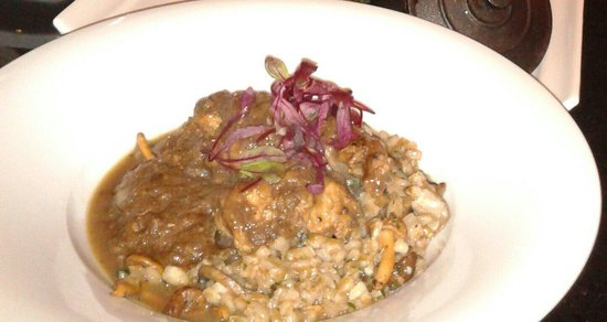 Citrus: Rabbit with mashroom risotto. ..yamee