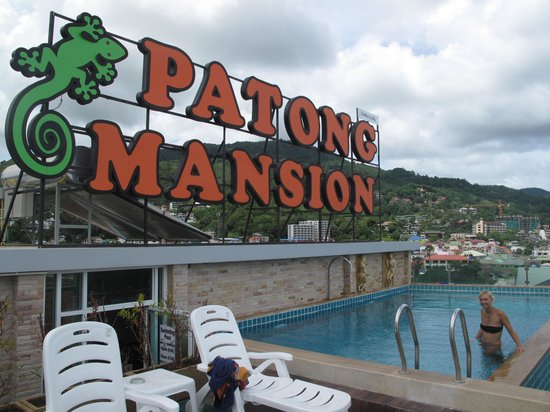 Patong Mansion Hotel: pool