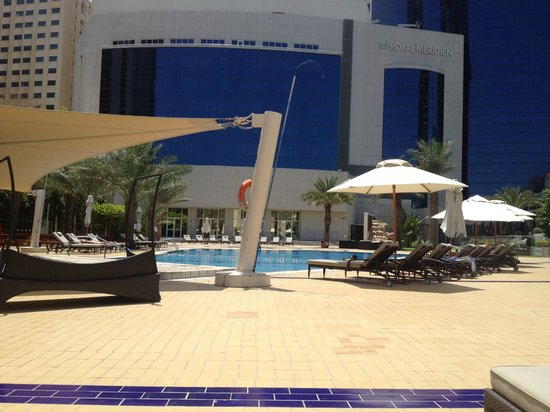 Le Royal Meridien Abu Dhabi : Poolbereich wird im Juni neu gestaltet