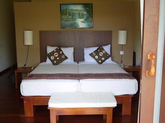 Biyukukung Suites and Spa: こちらはツインベットルーム