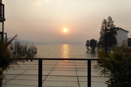 Einn Chao'er Holiday Inn: Sunrise from our room
