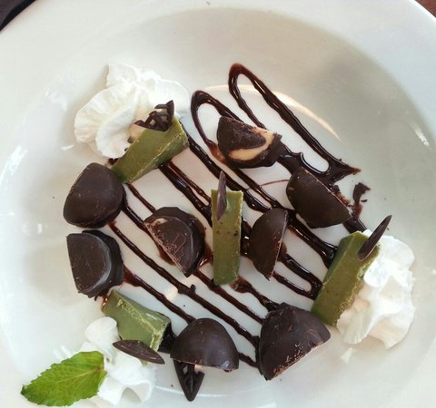 High Rock Cafe: Assorted Chocolate Plate $5