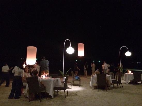 Four Seasons Resort Koh Samui Thailand : We lit and released lanterns as an extra special treat