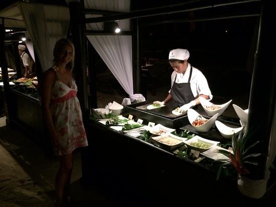 Four Seasons Resort Koh Samui Thailand : Cook station