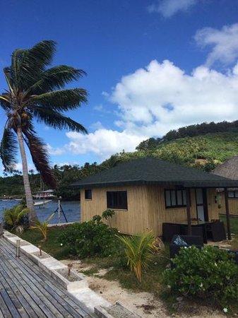 Bora Bora Ecolodge : bungalow #4