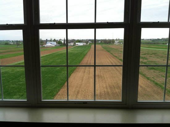 AmishView Inn & Suites: The farmland view from your room