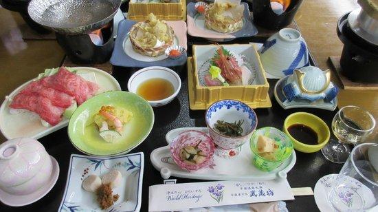 HIRAIZUMI Hotel Musashibo : Dinner