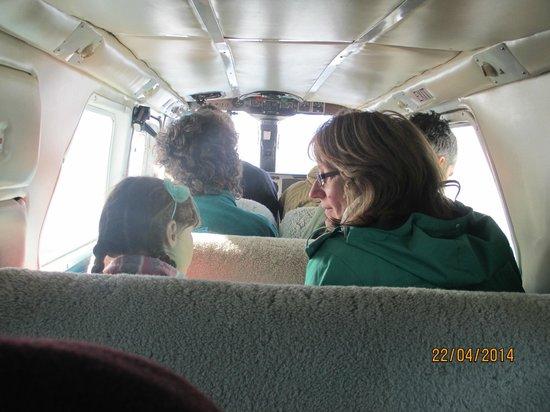 Stewart Island Flights: Quite a tight fit