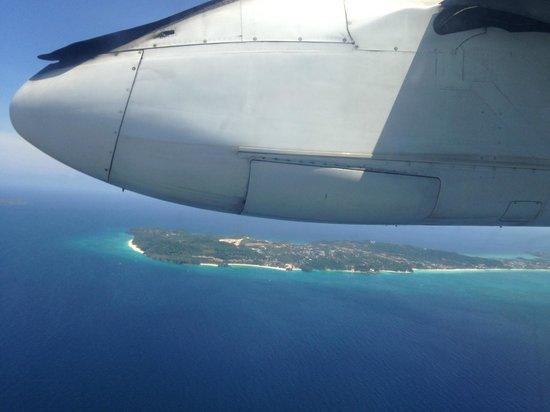 Surfside Boracay Resort & Spa : Боракай с высоты полёта